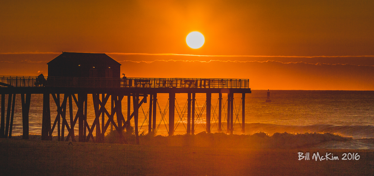 fishing pier #sunrise-7406