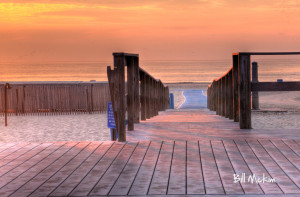 Belmar beach path 2011
