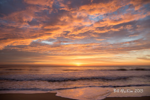 brilliant jersey shore sunrise photograph November 2015  by bill mckim